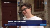 0 france 3 tv franc ois marie lapchine die kunstausstellung der malerin und ku nstlerin verena von lichtenberg aus darmstadt frankfurt bilder und kunstwerke in den museen und galer