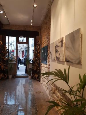 0 une exposition d art et de peinture les oeuvres de l artiste peintre verena von lichtenberg en muse e ou galerie d art ici a la galerie d art thuillier espace de la fondation ang