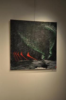 001 the painter verena von lichtenberg from darmstadt and her exhibition nord licht in paris new york and tokyo