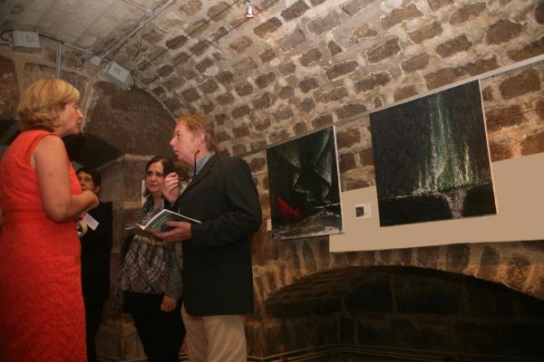 00a verena von lichtenberg artiste peintre a paris et les oeuvres d art nord licht une exposition en sept 2014 a l eglise de la madeleine