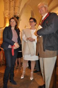 01a les expositions d art nl anne catherin loisier senateur maire de saulieu verena von lichtenberg artiste peintre a paris et pere thirault une expsoition d art des musees de bour