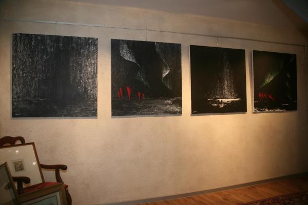 Nord Licht les tableaux et oeuvres d'Art de Verena von Lichtenberg en Belgique