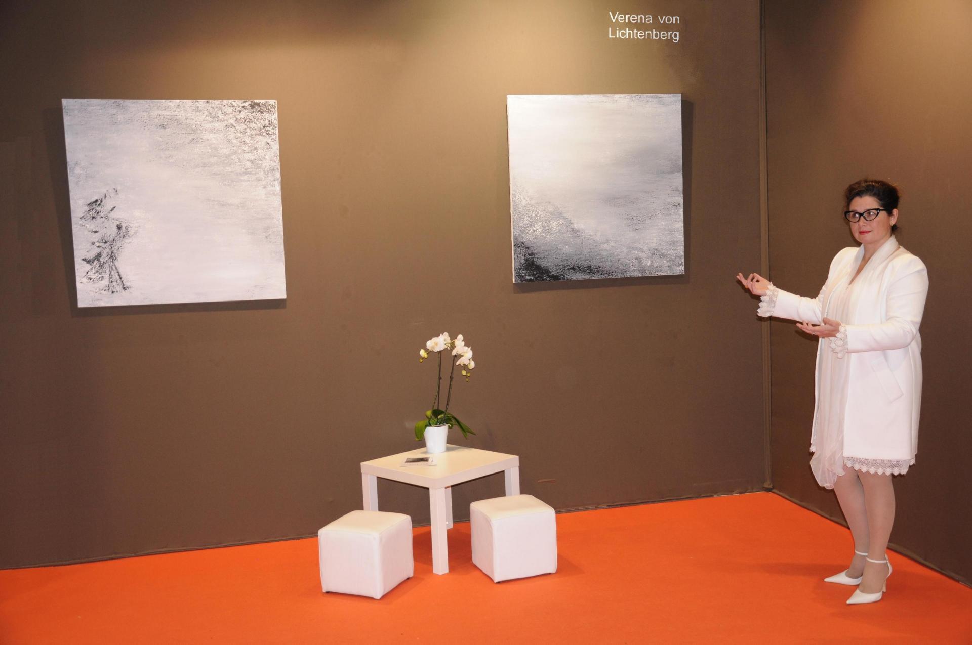 02 verena von lichtenberg artiste peintre une exposition d art au grand palais a paris