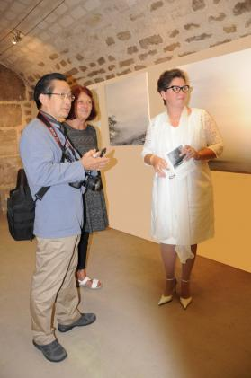 02a a paris l artiste peintre verena von lichtenberg et l exposition d art la dans les musees d art et les galeries d art et de peinture contemporaine