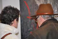 03 the art exhibition nord licht and the painter verena von lichtenberg in florenville the art galerie utopian