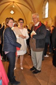 03a les expositions d art nl anne catherin loisier senateur maire de saulieu verena von lichtenberg artiste peintre a paris et le pere thirault une expsoition d art des musees de b