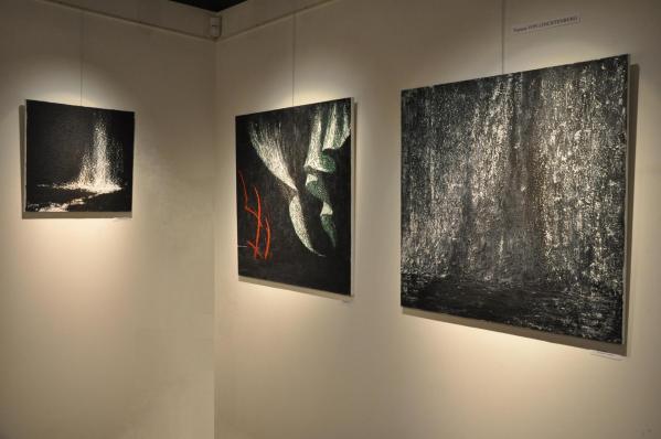 04 les ouvres d art de l exposition nord licht de l artiste peintre verena von lichtenberg une artiste de strasbourg a paris new york tokyo moscou ou miami