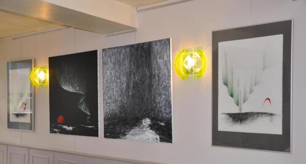 04a l exposition d art et les tableaux nord licht de l artiste peintre verena von lichtenberg a auxerre