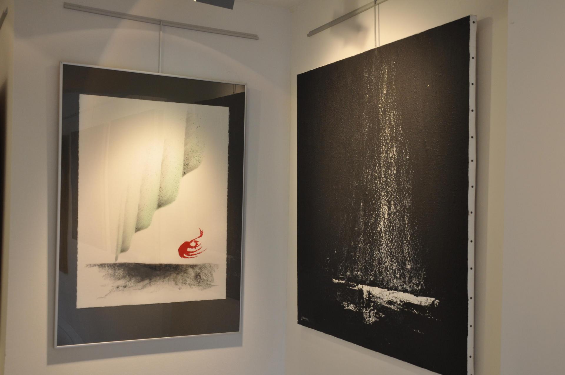 05 die malerin verena von lichtenberg in brugge und in florenville bei d orval die kunstausstellung der galerie utopian nord licht