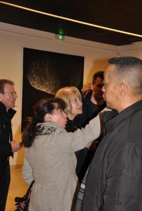 06 the art painter verena von lichtenberg from strasbourg and her exhibition in the art gallery galerie decauville in saint quentin in yvelines voisins le bx 1
