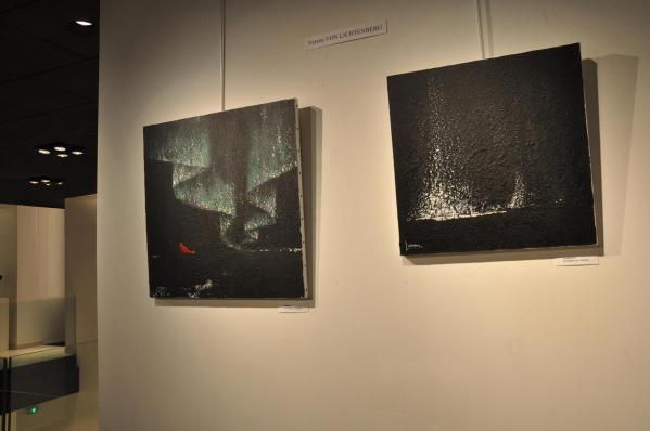 08 die bilder und gemalde der malerin verena von lichtenberg eine ausstellung der galerie decauville in saint quentin en yvelines ihre bilder sind auch im louvre grand palais in pa