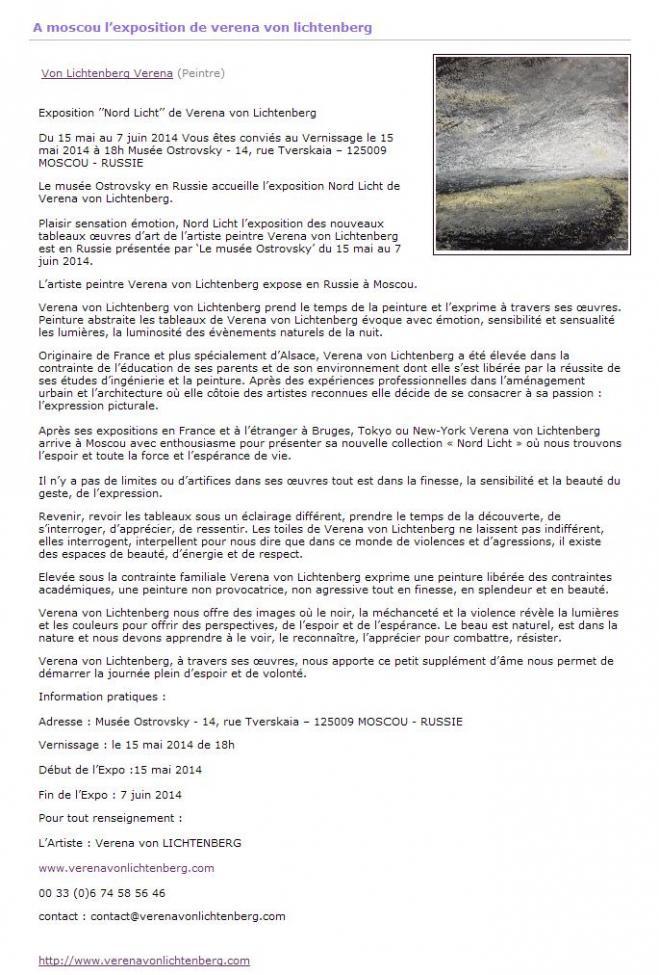 1 au musee ostrovsky l artiste peintre verena von lichtenberg une artiste peintre a moscou avec ses tableaux d art