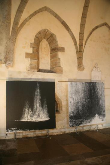 1 die bilder und werke der ausstellung nord licht der verena von lichtenberg sind in saulieu st saturnin eine ausstellung in der bourgogne