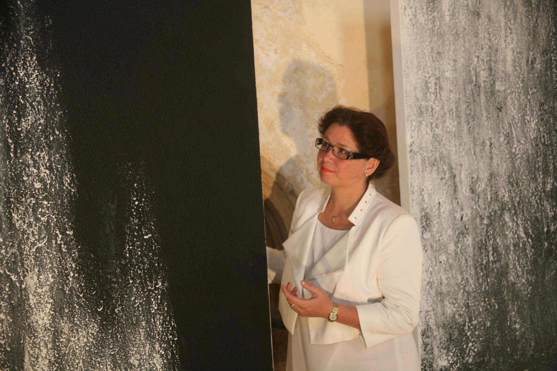 1 the painter verena von lichtenberg and her exhibition in saulieu the modern art exhibition