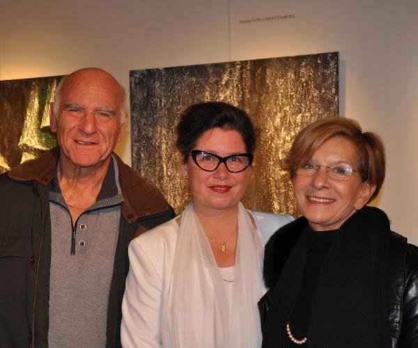 10 joel loison maire de velizy villacoublay verena von lichtenberg artiste peintre et monique loison une exposition d art de tableaux a voisin le bretonneux