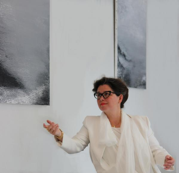 10 the painter verena von lichtenberg from paris and her art exhibition