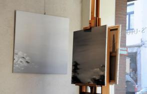 10a une exposition d art de l artiste peintre verena von lichtenberg de paris elle est a bruges a la galerie d art erasmu s des tableaux et oeuvres d art qui sont en galeries et mu