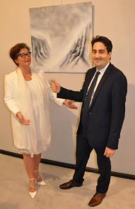 11 exposition d art et de peinture des oeuvres lyriques de l artiste peintre verena von lichtenberg et le 1 er adjoint au maire de la ville de paris 8e me vincent baladi