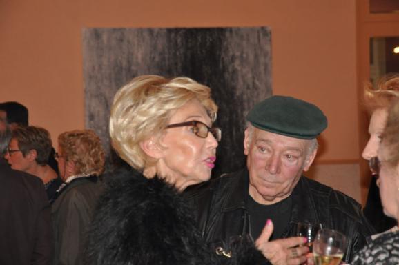 11 un vernissage et les toiles et tableaux d art de l artiste peintre verena von lichtenberg une exposition d art en champagne a jonchery sur vesle