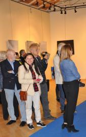 11 1 des expositions d art en muse es et galeries d art verena von lichtenberg est a madrid avec ses tableaux