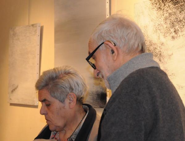 12a mme hongerloot bob vanantwerpe galerie erasmus s a bruges une exposition d art de l artiste peintre verena von lichtenberg de paris