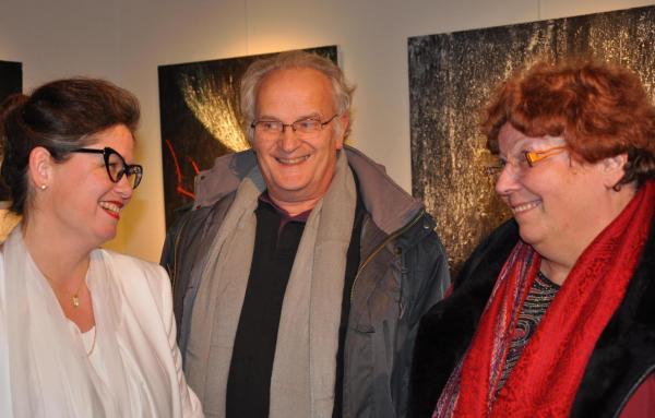 13 eine kunstausstellung decauville der malerin verena von lichtenberg aus der kunstschule darmstadt