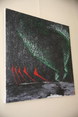 14 l artiste peintre verena von lichtenberg et l exposition d art nord licht a la galerie d art expression a auxerre