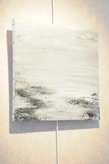 15 les oeuvres d art de l artiste peintre verena von lichtenberg des tableaux en lin des pigment naturels l exposition d art lumiere australe est a auxerre a la galerie art express