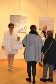15 2 l artiste peintre verena von lichtenberg a madrid avec son exposition d art et de peinture