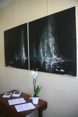 16 die ausstellung in der galeries d art art expression mit der artiste peintre verena von lichtenberg