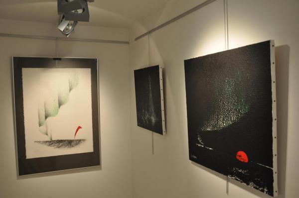 17 verena von lichtenberg und floris jespers zwei maler in der kunstausstellung uns galerie utopian art