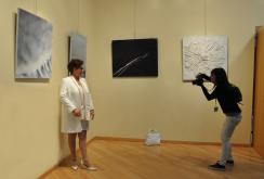 17 2 une exposition d art de paris est a madrid les tableaux et oeuvres d art de l artiste peintre verena von lichtenberg