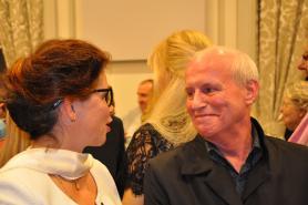 17 2 verena von lichtenberg artiste peintre et michel canal adjoint au maire chatenay malabry une exposition d art