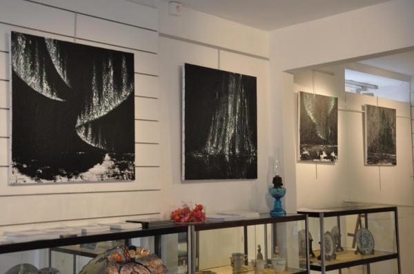 18 verena von lichtenberg und die art ausstellung nord licht in der galerie utopian art mit floris jespers in brugge florenville orval