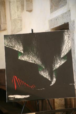 19 a saulieu les exposition d art et tableaux de l artiste peintre verena von lichetnebrg