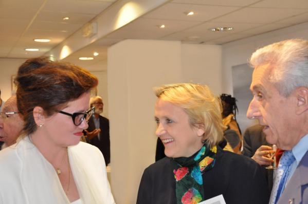 19 verena von lichtenberg artiste peintre florence berthout maire de paris 5eme avec membre arts sciences lettres