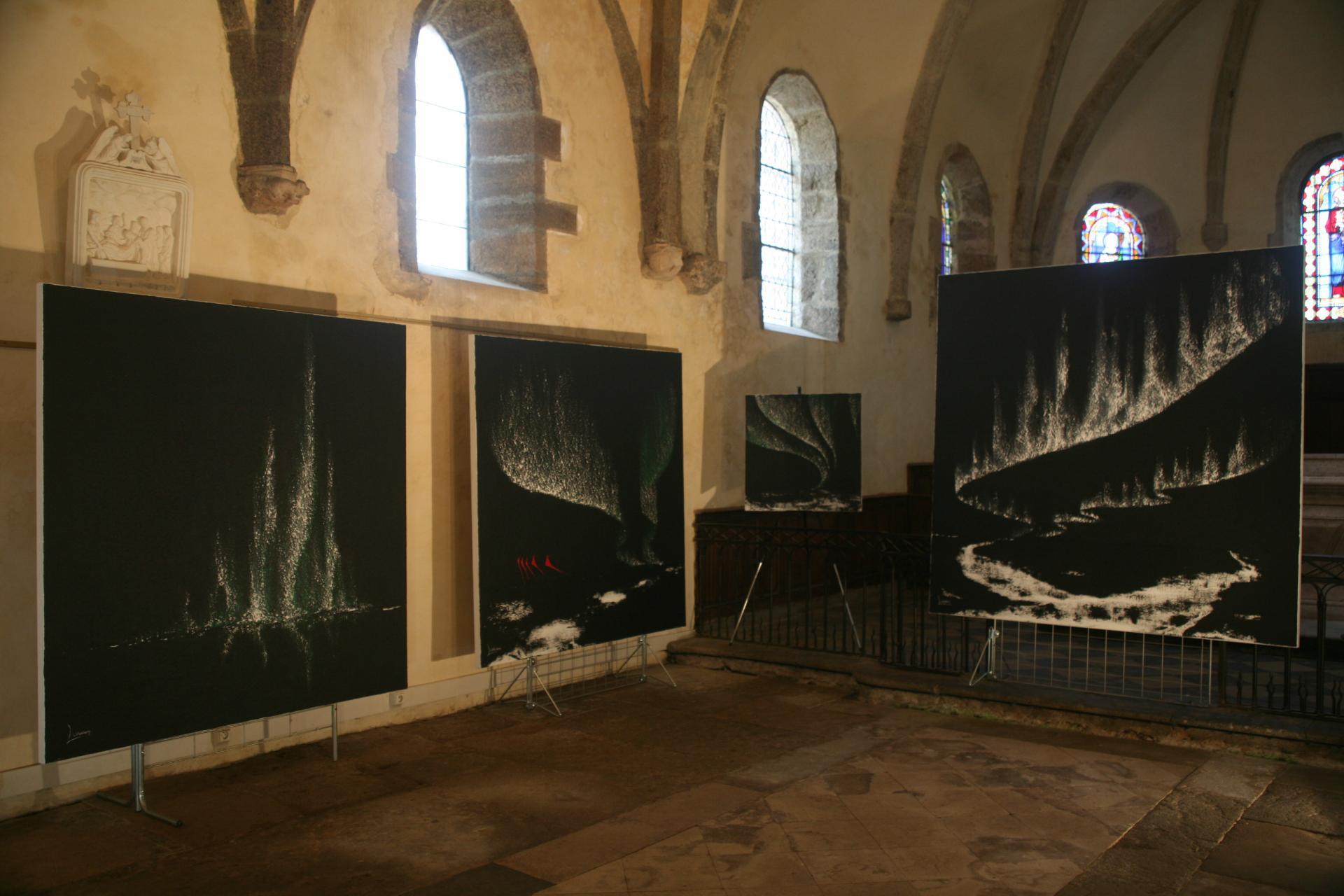2 die deutsch franzosische malerin verena von lichtenberg und ihre bilder und werke nord licht in der bourgogne in der kunsthalle st saturnin