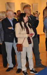 2 1 eine kunstausstellung der malerin verena von lichtenberg aus paris sie ist in madrid ihre bilder in museen und galerien in tokyo new york moscou brugge