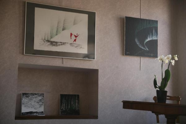 21 l artiste peintre verena von lichtenberg une exposition d art de tableaux et oeuvres d art moderne a auxerre a la galerie d art art expression 1