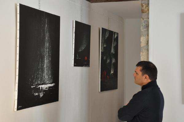 21 vvl bilder der malerin verena von lichtenberg aus paris aeine ausstellung musee pompon in der bourgogne