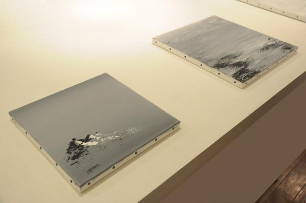 21a l artiste peintre verena von lichtenberg de paris est a bruges a la galerie d art erasmus s une exposition d art contemporaine et modern