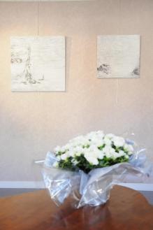 21die kunstausstellung lumieere australe der malerin verena von lichtenberg aus darmstadt in hessen in der galerie art expression in auxerre in der bourgogne