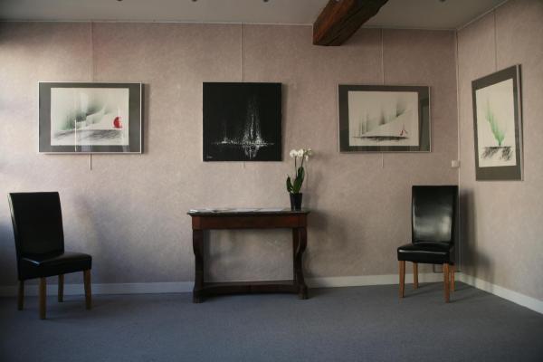 22 die ausstellung in der galerie d art art expression mit der malerin und artiste peintre verena von lichtenberg in auxerre