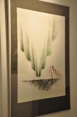 22 die malerin verena von lichtenberg und die kunsausstellung nord licht in der art galerie utopian art in belgien