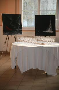 22 une exposition d art en champagne avec les oeuvres d art et tableaux de l artiste peintre verena von lichtenberg a jonchery sur vesle 1