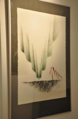 22a l artiste peintre verena von lichtenberg et les oeuvres d art et tableau nord licht une exposition d art de la galerie utopian art