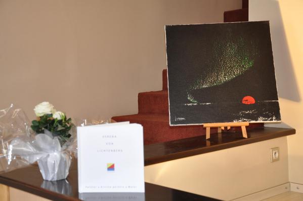 23 l exposition d art confrontation de l artiste peintre verena von lichtenberg est a la galerie art expression en bourgogne