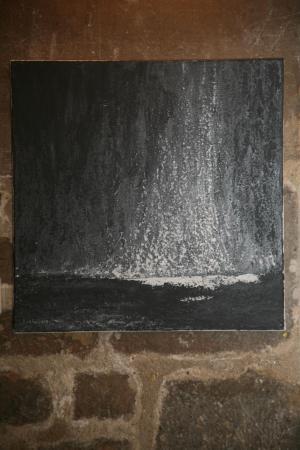 24 l artiste peintre et l exposition nord licht a l eglise de la madeleine