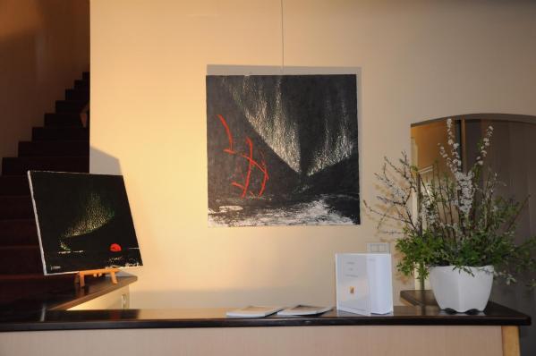 24 les oeuvres d art de l artiste peintre verena von lichtenberg les tableaux toiles et oeuvres nord licht a la galerie art expression en bourgogne