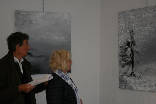 250 l exposition d art contraste de l artiste peintre verena von lichtenberg de paris a saulieu a la galerie d art du musee francois pompon